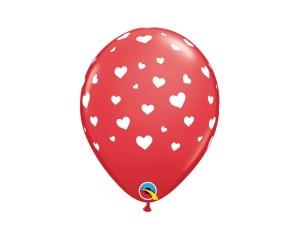 Heart valentine rubber Balloon