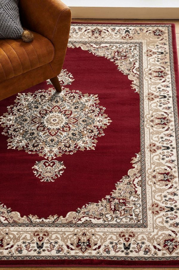 Beverly rug antique collection vintage area rug 1333 red