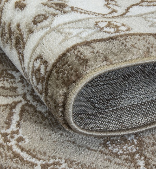 Beverly Rug Regal Collection Timeless Classic Traditional Area Rug 179 Bone dark beige