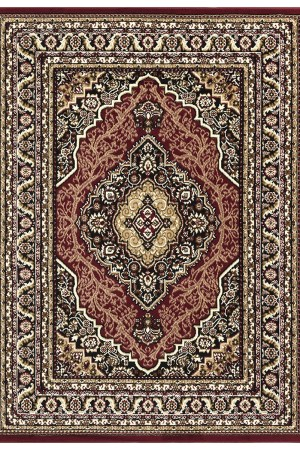 beverly rug princess collection oriental medallion area rug 812 black burgundy