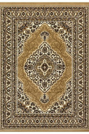 beverly rug princess collection oriental medallion area rug 812 cream beige
