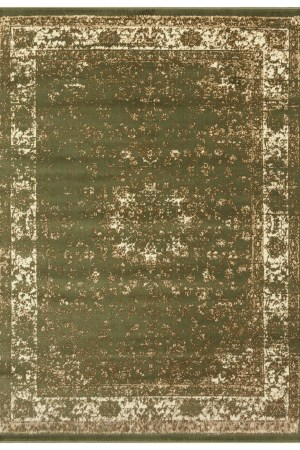 beverly rug princess collection vintage oriental area rug 814 bone green