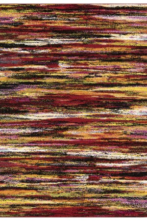 Beverly rug queen collection multi color modern and abstract area rug 2805