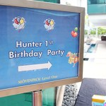 HUNTER'S 1ST BIRTHDAY PARTY