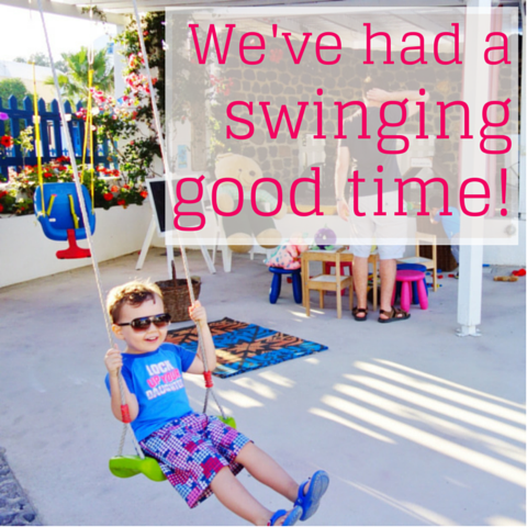 swinginggood time!