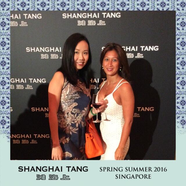 Shanghai Tang Spring Summer 2016 Singapore