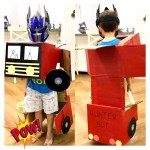 DIY TRANSFORMERS HALLOWEEN COSTUME