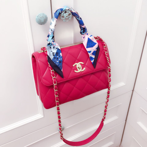 Chanel Trendy cc lambskin bag