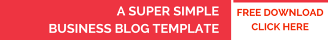 Super Simple Business Blog Template, be visible, blog school, betsy kent