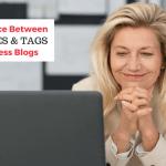 categories & tags in wordpress blogs