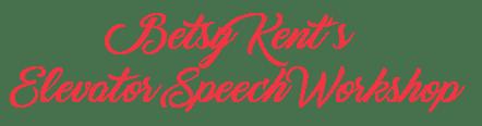 Elevator Speech Page Title 02