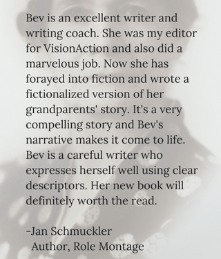 testimonial for Bev Scott by Jan Schmuckler