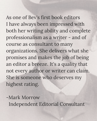 testimonial Mark Morrow for Bev Scott