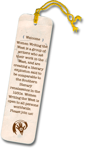 Bookmark Women Writing the West