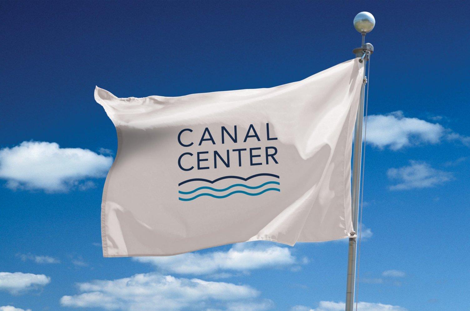 Canal Center Flag