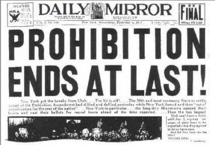 Raise a Glass to National Repeal Day