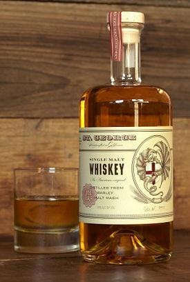 st george single malt whiskey