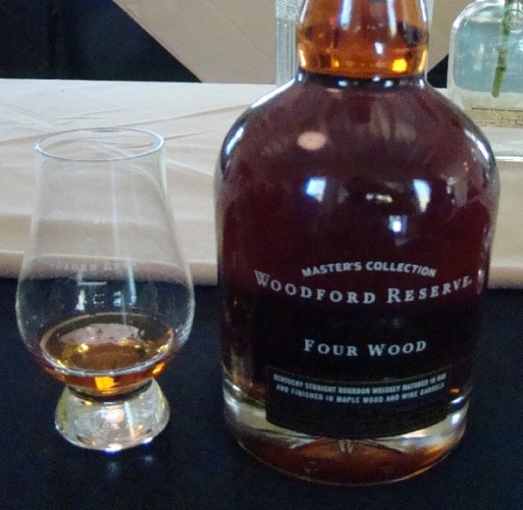 woodford reserve four wood bourbon