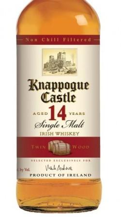 knappogue castle 14 year twin wood irish whiskey