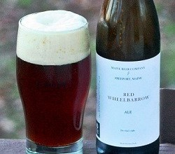 maine beer company red wheelbarrow ale
