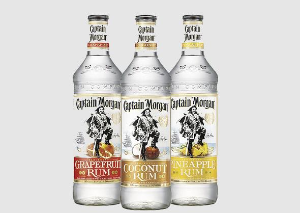 captain morgan flavored rums