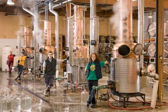 Clear Creek Distillery Staff