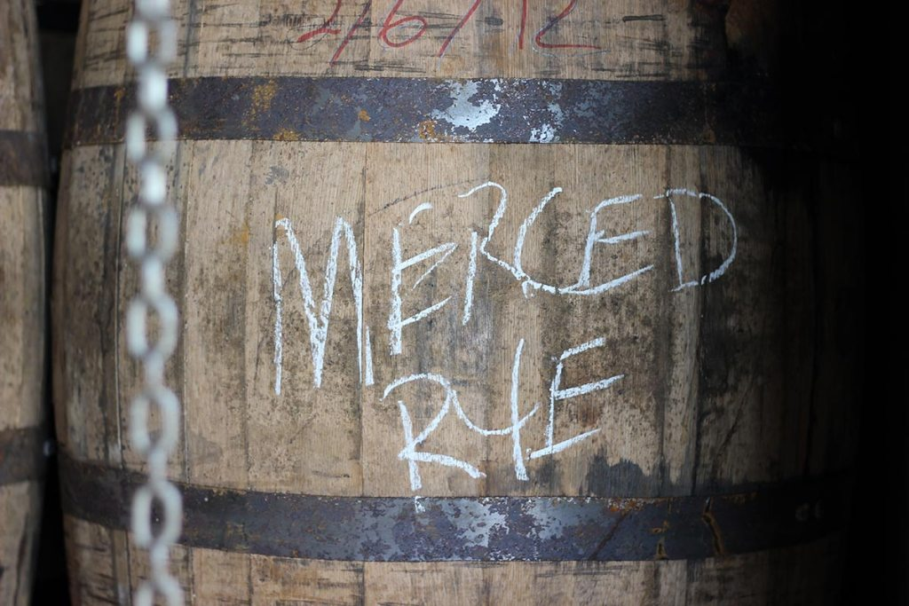 corbin cash merced rye whiskey barrel