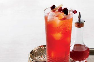 thanksgiving cocktails cranberry