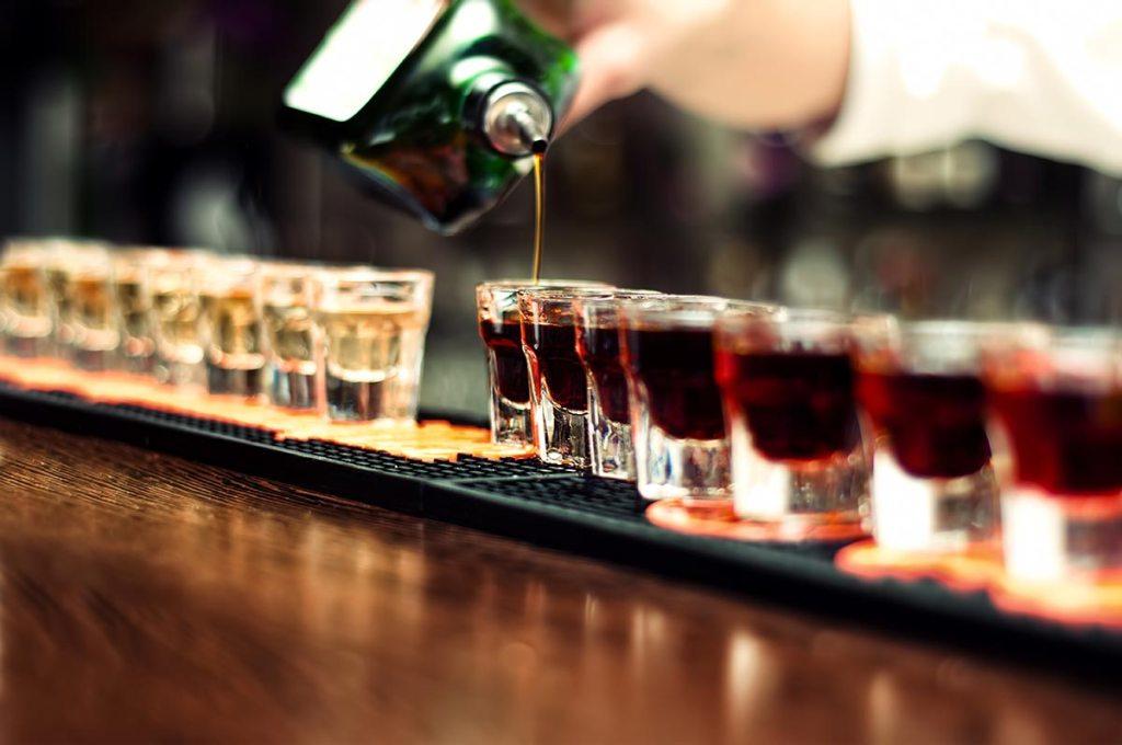 liqueur shots
