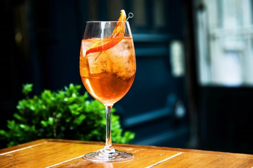 Friday Bevvy: Where the Man-Go Spritz