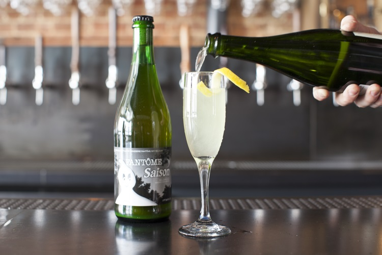 French 75 and Saison