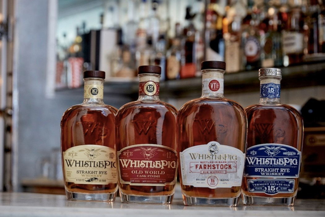 whistlepig whiskeys