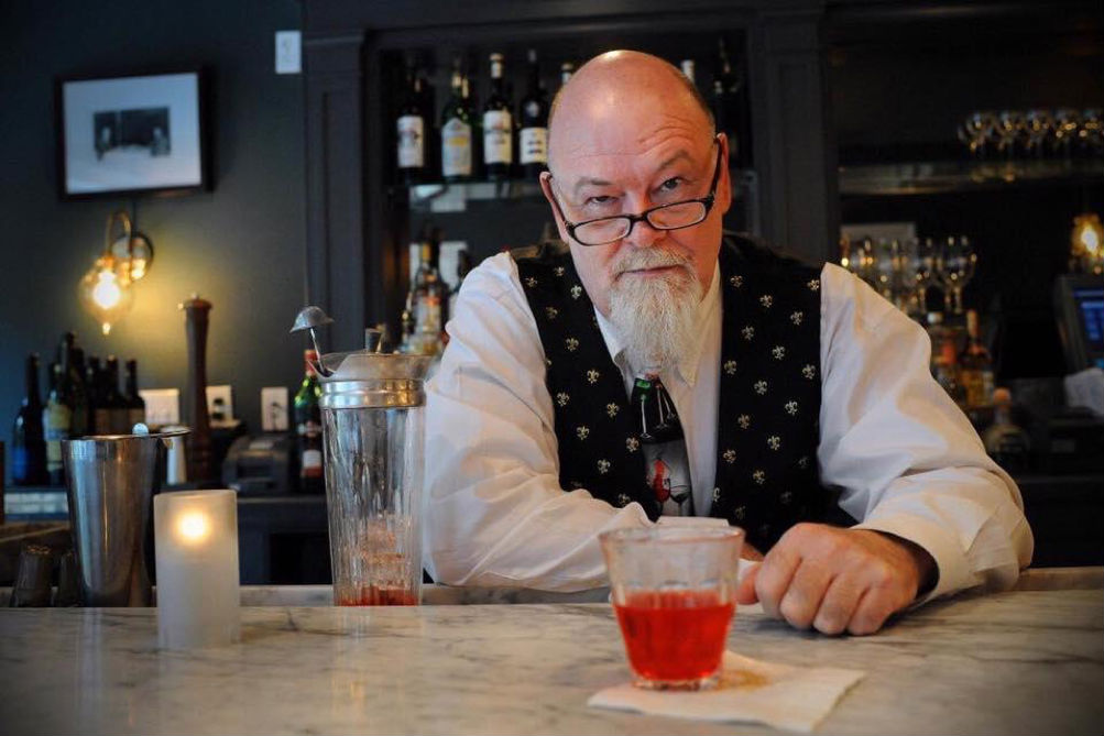 New Orleans Bartender Paul Gustings