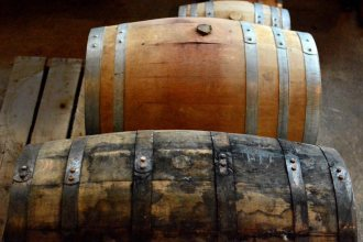 mosswood whiskey barrels
