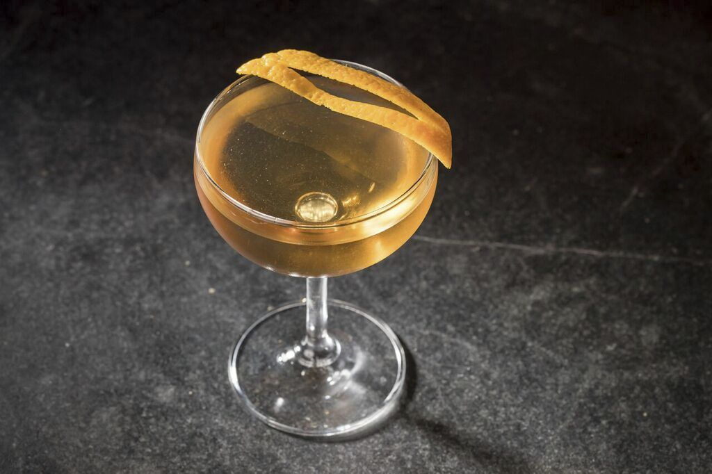 Golden Torch Cocktail