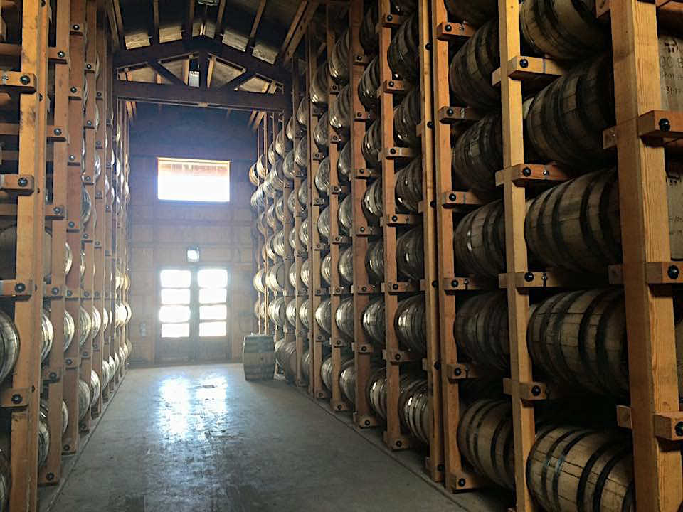Frey Ranch Whiskey Barrels