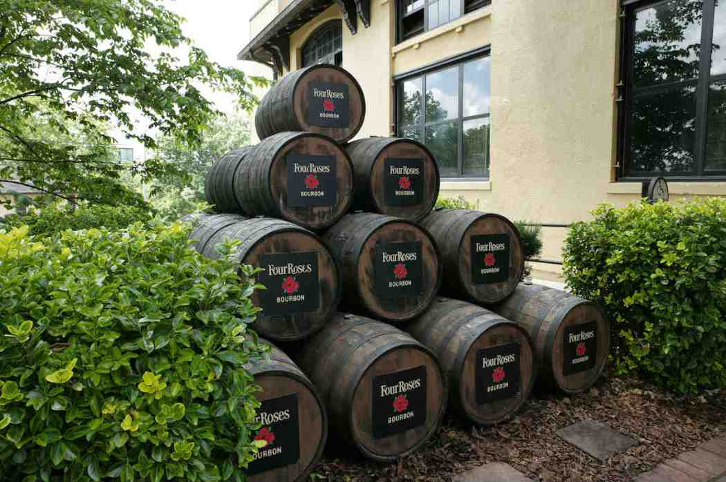 Four Roses Whiskey Barrels