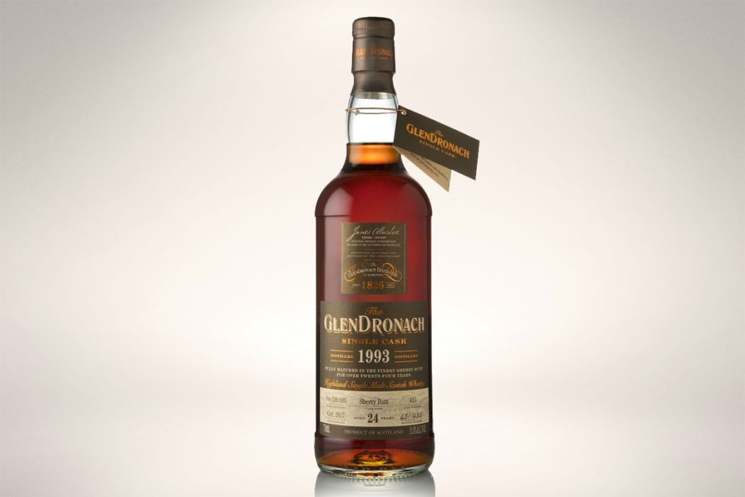 glendronach 1993 24-year whisky