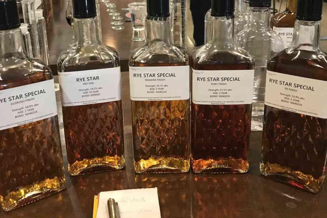 Canadian Whisky Tasting