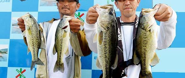 琵琶湖バスフィッシングガイドリポート ~上杉様~ 45cm 17