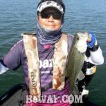 琵琶湖バスフィッシングガイドリポート ~たいがーーー様~ 36cm 12