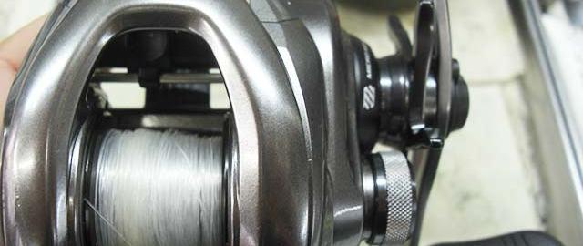 シマノ 15 メタニウムDC メンテナンス写真