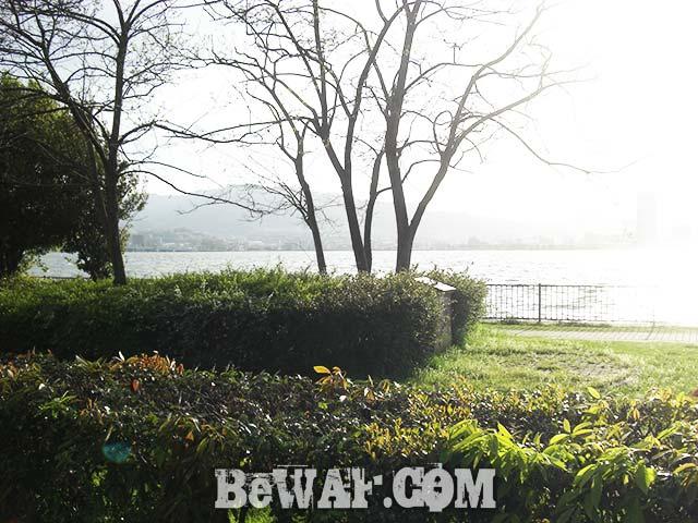 2017年4月19日 琵琶湖 おかっぱりへ 春嵐きたる 写真