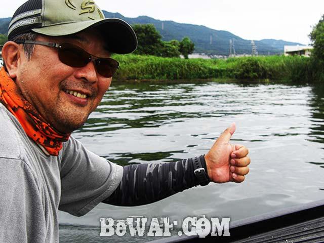 琵琶湖 8月の釣り ビックワーム ガイド写真