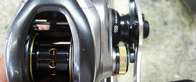 シマノ 13 メタニウムXG オーバーホール写真