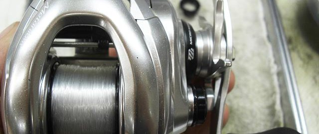 シマノ メタニウム mgl オーバーホール写真