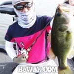 琵琶湖バスフィッシングガイドリポート ~今野様~ 46cm