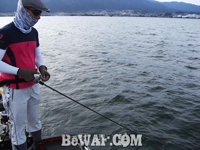 琵琶湖 秋の釣り方 ガイドブログ写真