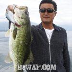 琵琶湖バスフィッシングガイドリポート ~岩本様~ 48cm