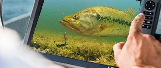 ロランス魚探用 水中カメラ 新製品紹介 モニター 写真